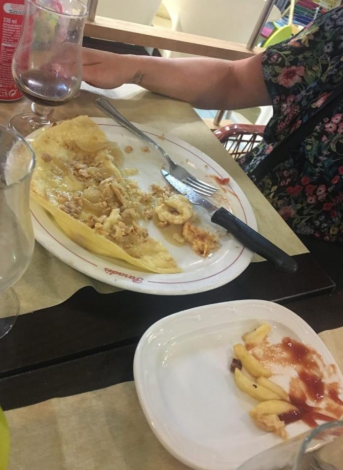 Comida restaurant pizzeria paradis estartit