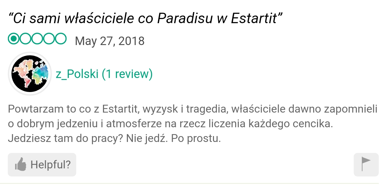 Paradis opinió estartit